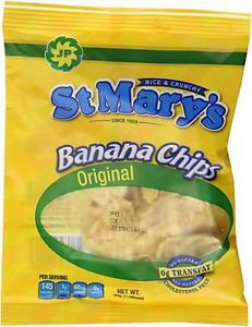 ST MARY�S BANANA CHIPS (ORIGINAL WITH SEA SALT) � 24-PACK