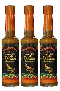 WALKERSWOOD HOT JAMAICAN SCOTCH BONNET PEPPER SAUCE (PACK OF 3)