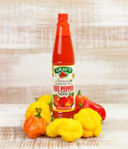 Gray's Authentic Jamaican Hot Pepper Sauce 3 oz (pack of 6)
