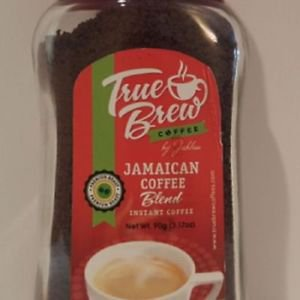JABLUM TRUE BREW INSTANT COFFEE BLEND , EXOTIC ROASTED 180 g