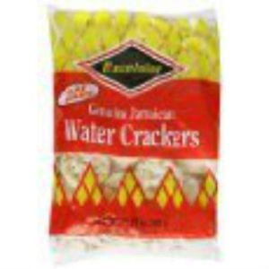 EXCELSIOR JAMAICAN WATER CRACKERS 11.85 OZ , FAMILY SIZE, (PACK OF 5)