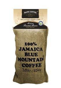 BAWK Coffee 100% Authentic Jamaica Blue Mountain Coffee (Beans) 5 lbs