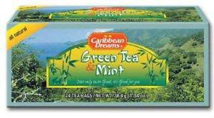 Caribbean Dreams Green Tea & Mint (Pack of 3)