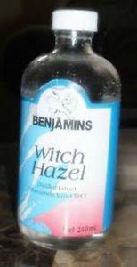 BENJAMINS WITCH HAZEL, 4 OZ( PACK OF 3)