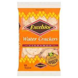 EXCELSIOR WATER CRACKERS CINNAMON 11.85 OZ , FAMILY SIZE (PACK OF 8)