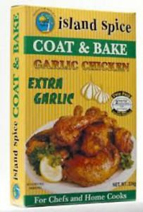 ISLAND SPICE COAT & BAKE  FOR GARLIC CHICKEN (PACK OF 2)
