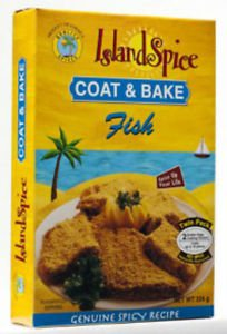 JAMAICA ISLAND SPICE COAT & BAKE FISH (PACK OF 2)