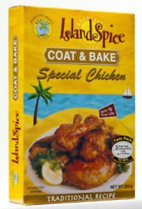 JAMAICA ISLAND SPICE COAT & BAKE SPECIAL CHICKEN ( PACK OF 2)