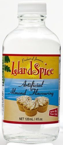 Island Spice Artificial Almond Flavoring 4oz (pack of 3)