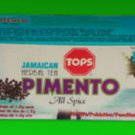 TOPS JAMAICAN PIMENTO TEABAGS (PACK OF 3)