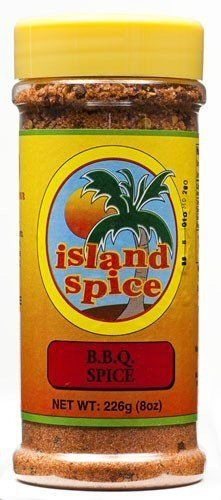 ISLAND SPICE BBQ SPICE 8 OZ (PACK OF 6)