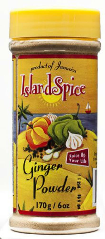 JAMAICAN ISLAND SPICE GINGER POWDER � 6 OZ ( PACK OF 2)
