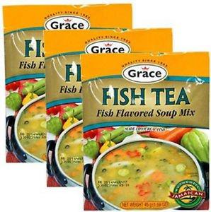 GRACE FISH TEA SOUP MIX (PACK OF 3)