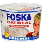 JAMAICAN FOSKA INSTANT OATMEAL PORRIDGE BREAKFAST SNACK HOT CEREAL ( PACK OF 6)