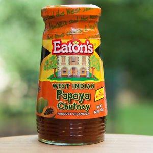 JAMAICAN EATON�S PAPAYA CHUTNEY (PACK OF 2)