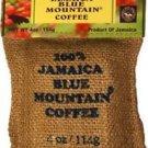 Ridgelyne 100 percent jamaica blue mountain coffee roasted beans organic 4 oz