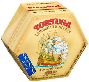 TORTUGA CARIBBEAN BLUE MOUNTAIN COFFEE RUM CAKE 16 OZ