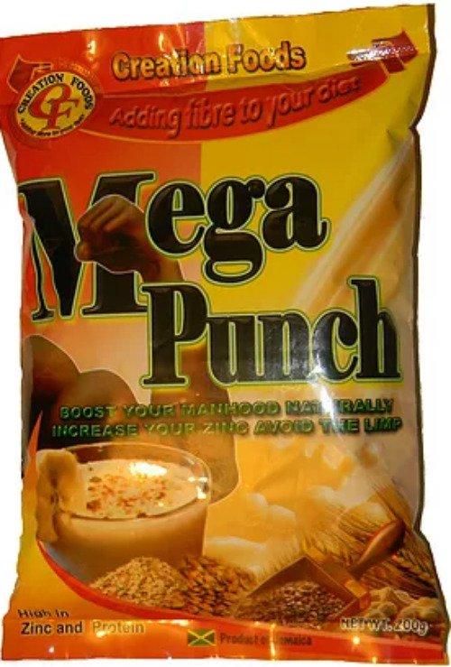 Creation Foods Jamaican Mega Punch 200 g- natural manhood booster (Pack of 3)