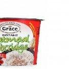 Grace Instant Oatmeal Porridge 2.82 Oz (Pack of 6)