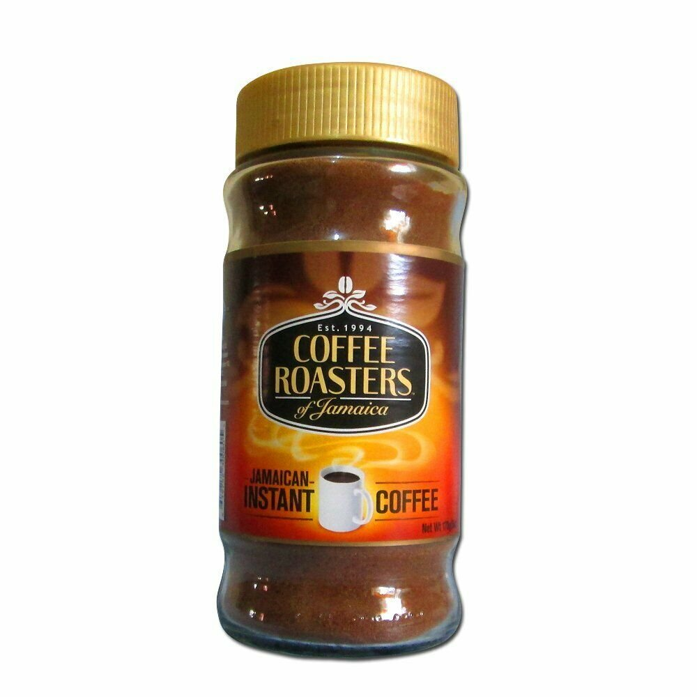 Wholesale Coffee Roasters Of Jamaica - Instant Coffee - 6 Ounce X 24 bottles