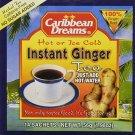 Caribbean Dream Instant Ginger Tea (Pack of 24)