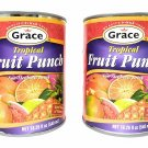 Grace Tropical Fruit Punch Drink 540mL, 2 Pack