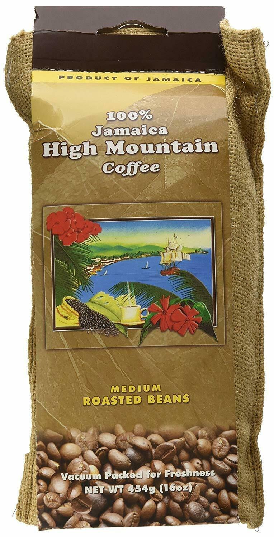 Jamaican High Mountain Coffee Whole Beans - 1 pound