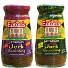 Eaton's Jamaican Hot and Mild Jerk Seasoning 11 Ounce (Pack of 2)