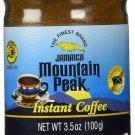 Jamaica Mountain Peak Instant Coffee 3.5 oz - Case of 24
