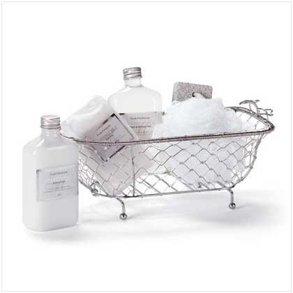 Gift Set In Decorative Bath Tub