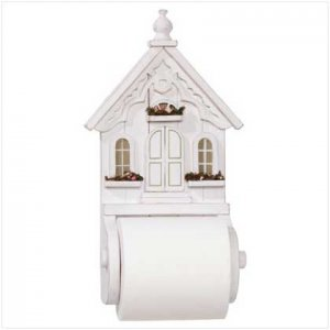 Country Cottage Tissue Holder