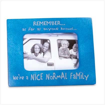 Normal Family Photo Frame