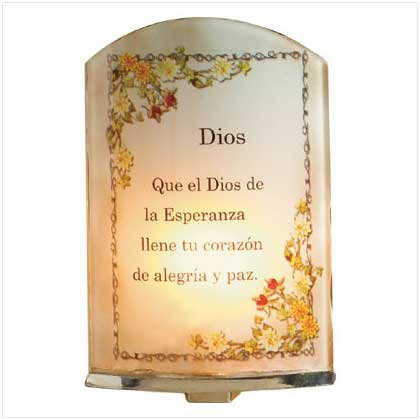 Spanish Prayer Night Light