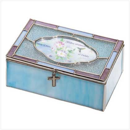 Spanish Blessing Jewelry Box