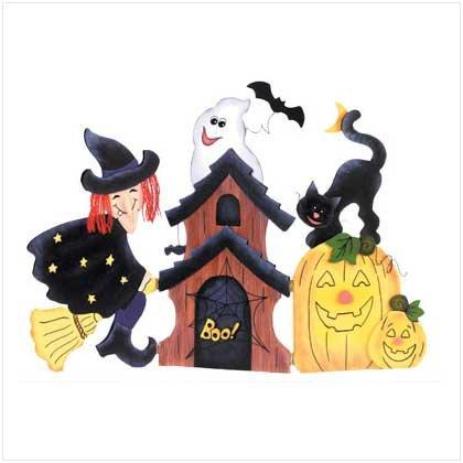 Halloween Table Screen