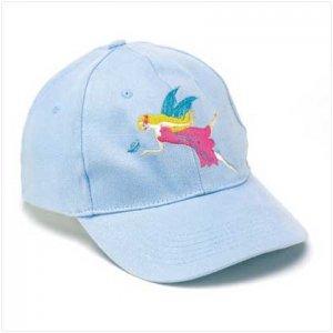 Blue Fairy Logo Cap with LED Lights