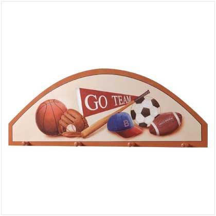 Wooden Sports Fan Hanging Plaque