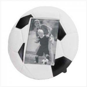 Soccer Ball Resin Photo Frame
