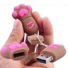 Dog's 4GB Footprint Shape USB Flash Drive CB