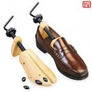 Set of 2 PROFESSIONAL Wooden SHOE STRETCHER Small- Med or Large Small- TT