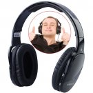 Wireless Comfortable Headset Headphone with Audio Microphone TF Card Supported-Black