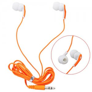 In-ear Earphone Earbud with Exquisite Package-Orange