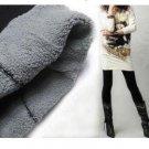 DOUBLE LAYERS legging Bamboo Black Cotton Tight Warm Leggings