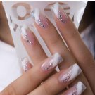 20000pcs Clear Glitter 2mm Hot Fix Rhinestone For Nail Art