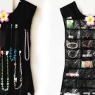 Little Dress Hanging Jewelry Organizer Pink or Black
