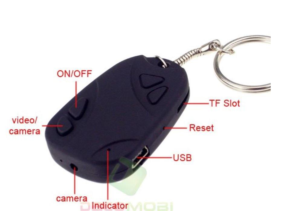 Camera  Car Key Keychain  Video Camcorder