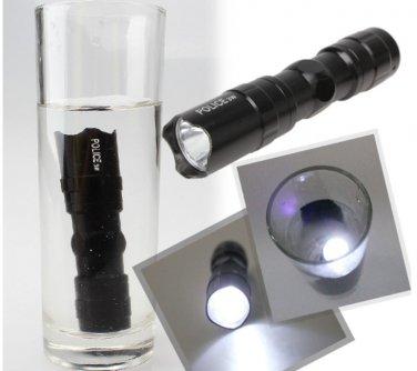 LED Flashlight,Police Torch Mini Flashlight, Waterproof Torch, Hiking Fishing Camping Flashlight