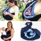 Newborn Infant Baby Toddler Pouch Ring Sling Carrier Kid Wrap Bag