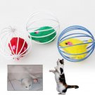 Cat Kitten Gift Funny Play Toys running Mouse Ball