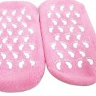 SPA Moisturing Gel Terry Socks (Pink)